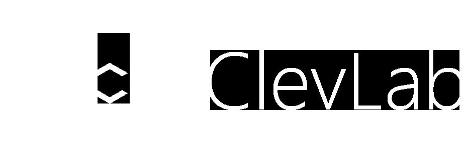 Logo ClevLab Blanc