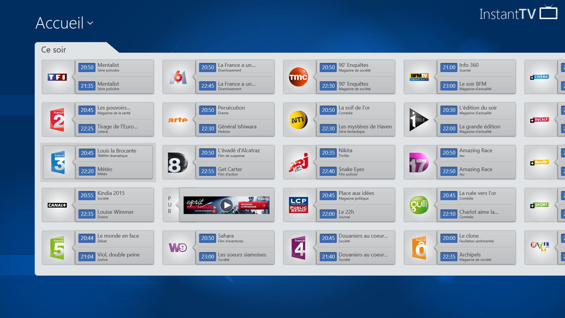 Programme TV par Télérama 2.0.4 download - Téléchargez l'application Programme TV Télérama et plongez dans l'univers des programmes télé décryptés…